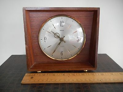 Vintage Smiths Sectronic Battery Clock Made in Great Britain