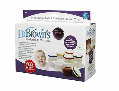 Dr. Brown's Storage Jars and Stackable Freezer Trays - M1506058L