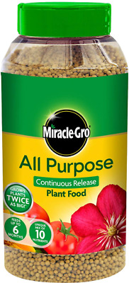 Feeding Plants Miracle-Gro All Purpose Grow Continuous Food Shaker Jar 1 Kg