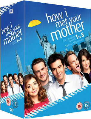 How I meet your mother (Cómo conocí a vuestra madre) - Seasons 1-8 DVD (UK)