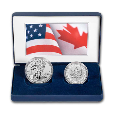 2019 U.S. Mint Pride of 2 Nations Limited Edition 2-Coin Set Ready to Ship!