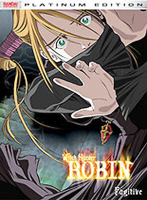 Witch Hunter Robin - Vol. 4: Fugitive (2004, DVD)  New factory sealed