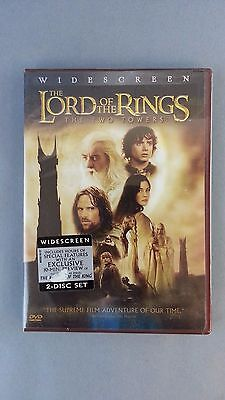 LORD OF THE RINGS TWO TOWERS JR Tolkien Movie Classic Widescreen DVD SEALED NEW