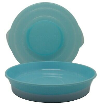 TWISTSHAKE Non Spill Plate For Babies With Lid Non Slip New