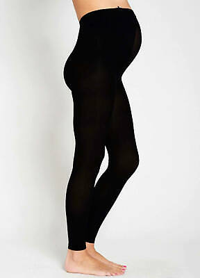 NEW - Ambra - Maternity Baby Bump 200 Denier Opaque Footless Tights