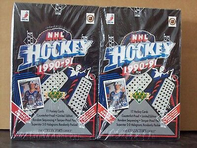Upper Deck Hockey 1990 - 91 High Series Sealed Boxes