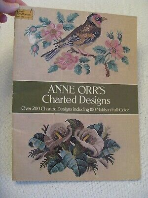 Anne Orr's Charted Designs Dover needlework