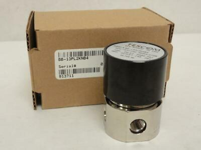 171684 New In Box, Tescom BB-13PL2KNB4 Regulator 6000Psi IN, 140Psi Out, SS-316