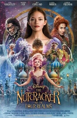 Nutcracker And The Four Realms (2018) DS 4'x6' Bus Shelter Real/Authentic Movie