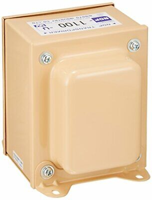NISSYO 120V to 100V 1100W Down Transformer Converter NDF-1100U Japan