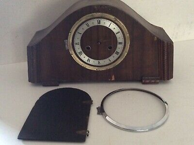Striking Clock Made In England Windup Mechanical Mantle Clock 8 Day Clock Parts