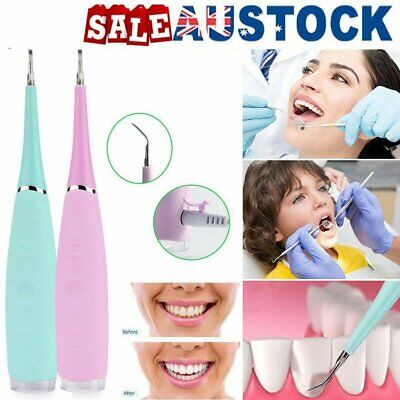 Medical Electric Dental Scaler Tartar Calculus Plaque Remover Teeth Stains BO
