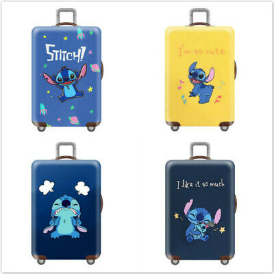 "18""-32'' Cartoon Stitch Elastic Travel Luggage Cover Suitcase Case Protector"