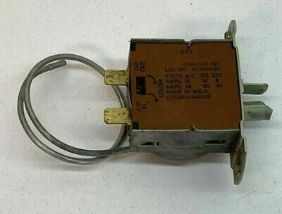 Cutler Hammer 5530-343-061 Temperature Control Thermostat 9530N580
