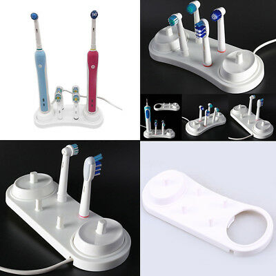 Useful White Electric Cosy Toothbrush Head Holder Toothbrush Stand For Oral-B