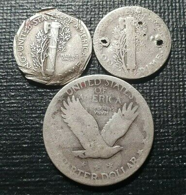 United States Silver One Dimes, Quarter coins