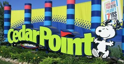 2 Cedar Point Amusement Park General Admission Tickets Pass Sandusky Ohio Adult