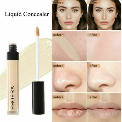 PHOERA Full Coverage Concealer Foundation Longlasting Moisturizing Make Up