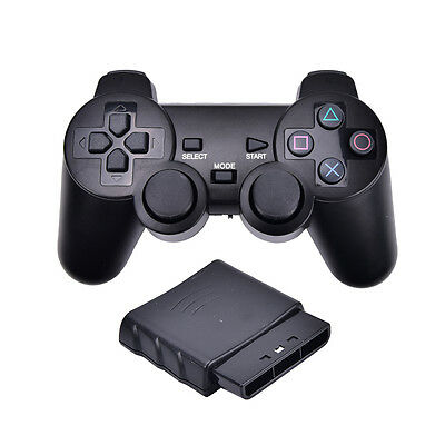 2.4G Wireless Game Controller Game pad Joystick for PS2 Console Video Gaming AU
