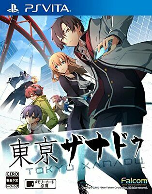 USED PS Vita Tokyo Xanadu SONY PLAYSTATION Free shipping from JAPAN
