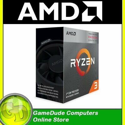 AMD RYZEN 3 3200G 4-Core 3.6Ghz 4GHz Turbo 65W Wraith Stealth VEGA Graphics |F33