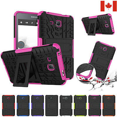 "For Samsung Galaxy Tab A 7"" Tablet T280 Heavy Duty Protective Stand Case Cover"