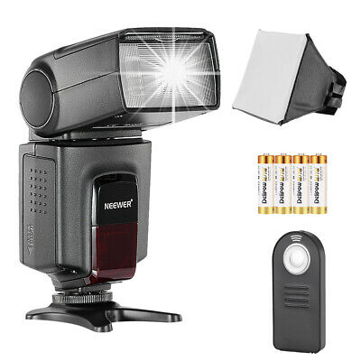 Neewer TT560 Speedlite Flash Kit for Camera with Standard Hot Shoe Mount