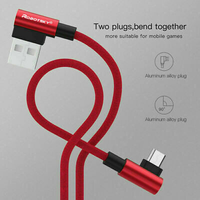 Type C 90 Degree Right Angle USB C 3.1 Fast Data Sync Charging Charger Cable
