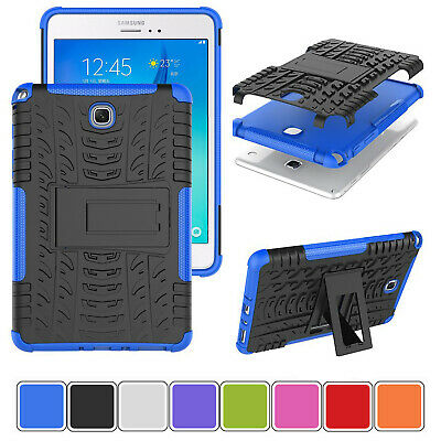 For Samsung Galaxy Tab A 8.0 T350 Heavy Duty Stand Hybrid Armor Hard Case Cover