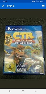 Ctr Crash Team Racing Nitro Fueled - Playstation 4 - Neu & Folie