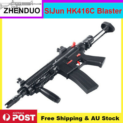 Tactical Sijun HK416C Gel Ball Blaster Toy Gun Water Bullets Mag-fed Darts AU