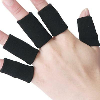 Useful Finger Sleeve Guard Support Stretchy Finger Protector Sleeves Safety LA