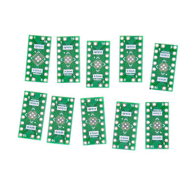 10 Pcs Qfn16 Pin Pitch 0.65Mm 0.5Mm To Dip16 Adapter Pcb Board Converter~PL