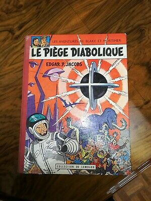 Edition Originale 1962 Le Piege Diabolique Edgar.p.jacobs