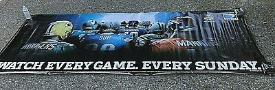 2012 Sunday Ticket Direct TV NFL Vinyl Banner  46 Inches Tall, 116 Inches Wide