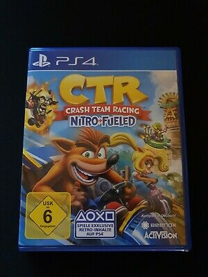 Crash Team Racing Nitro Fueled (PlayStation 4) *Neuwertig*