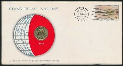 Macao PNC 1975 10 Avos Coins of all Nations