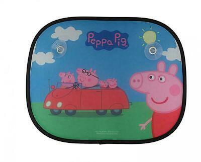 Peppa Pig Child Protection Foldable Sun Screens For Car Windows - Set of 2