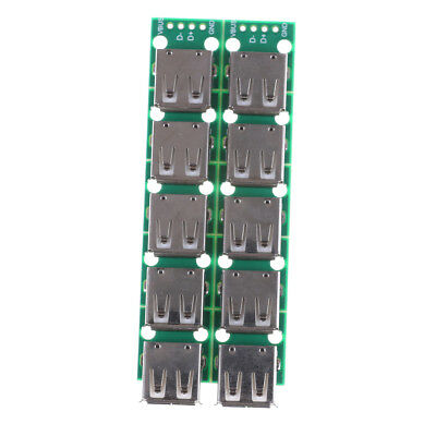10PCS Type A DIP Female USB To 2.54mm PCB Board Adapter Converter For Arduino~PL