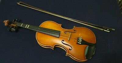 Vintage Violin  with Old Case and Bow