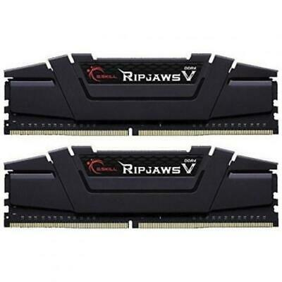 G.SKILL Ripjaws V Series Black DDR4 Desktop Memory 3200Mhz (2 x 8GB) 16GB RAM CL