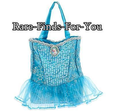 Disney Parks Frozen Princess Elsa Dress Style Shoulder Tote Hand Bag Purse (NEW)