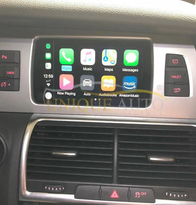 Sans Fil Apple Carplay Navigation Camera Interface Audi Q7 2009-2015 GPS Mmi