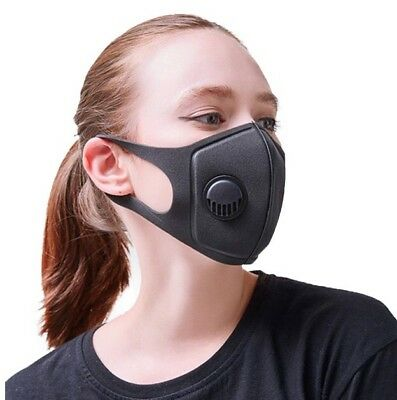 Dust Mask Respirator PM2.5 Air Face Masks Washable and Reusable