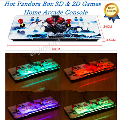 NEW HOT Pandora Box 9S 3D&2D Games 2885 In 1 Home Arcade Console HD In USA Stock