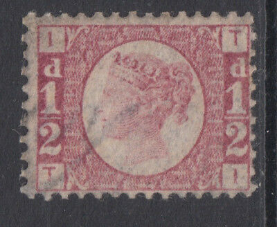 SG 48 1/2d Rose-Red Plate 3 Position TI in  very fine and fresh unmounted mint .
