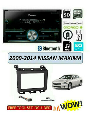 NEW fits 2009-2014 NISSAN MAXIMA Stereo Kit, BLUETOOTH MP3/USB/AUX