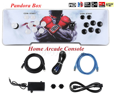 NEW Pandoras Box 2706 Games 3D&2D in 1 Home Arcade Console HD In USA Stock Fast
