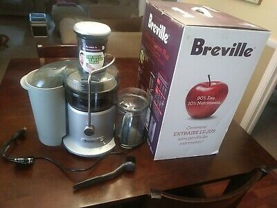 Breville Juice Fountain Plus - USED CLEAN COMPLETE