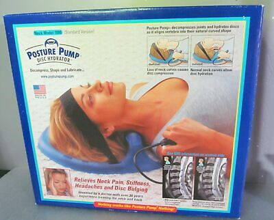 Posture Pump Disc Hydrator Neck Trainer Single Cell Extra Strength Model 1100-Sx